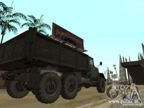 ZIL 131 camion pour GTA San Andreas vue de droite
