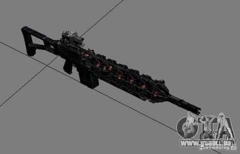 Une série d'armes de stalker V3 pour GTA San Andreas cinquième écran