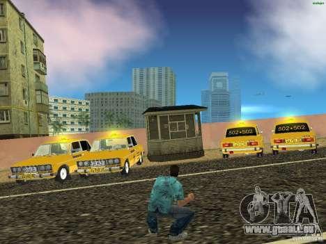 VAZ 2106 Taxi V 2.0 für GTA Vice City rechten Ansicht