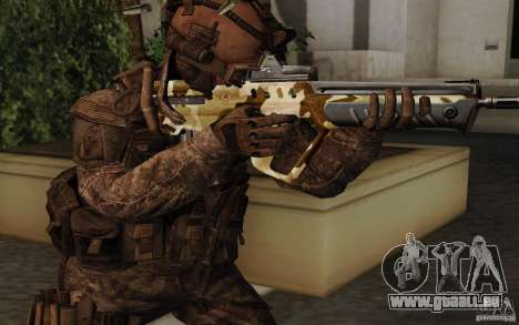 Tavor Tar-21 Camodesert pour GTA San Andreas deuxième écran