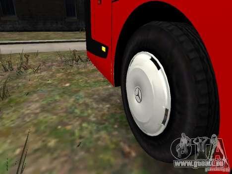 Mercedes Travego pour GTA 4 est une vue de dessous