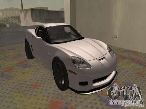 Chevrolet Corvette Grand Sport 2010 für GTA San Andreas linke Ansicht