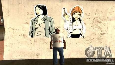 T-Shirt Verdammt ja für GTA San Andreas