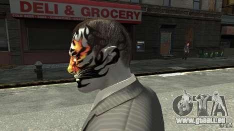Tatoo Tiger pour GTA 4 secondes d'écran