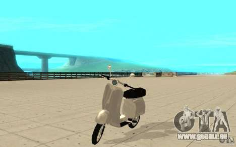GTAIV EFLC Faggio Classic für GTA San Andreas