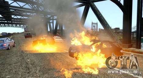Explosion & Fire Tweak 1.0 für GTA 4 dritte Screenshot
