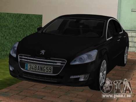 Peugeot 508 e-HDi 2011 pour GTA Vice City