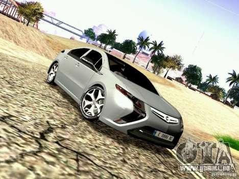 Opel Ampera für GTA San Andreas zurück linke Ansicht