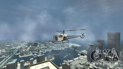Sparrow pour GTA 4 est un droit