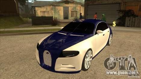 Bugatti Galibier 16c pour GTA San Andreas