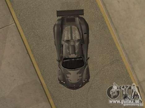 Porsche Carrera GT pour GTA San Andreas vue arrière