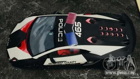 Lamborghini Sesto Elemento 2011 Police v1.0 ELS pour GTA 4 est un droit