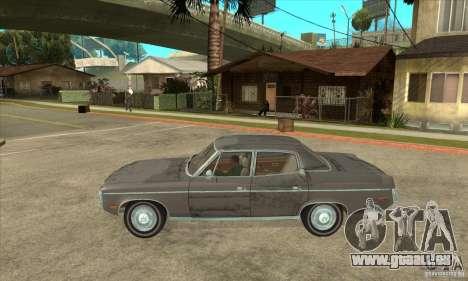AMC Rambler Matador 1971 pour GTA San Andreas laissé vue