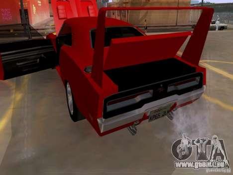 Dodge Charger Daytona 440 pour GTA San Andreas vue de côté