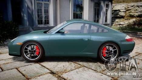 Porsche 911 (996) Carrera 4S pour GTA 4 est une gauche
