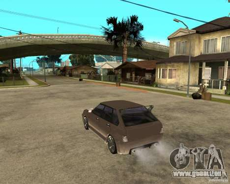 Vaz 21093 LiquiMoly pour GTA San Andreas laissé vue