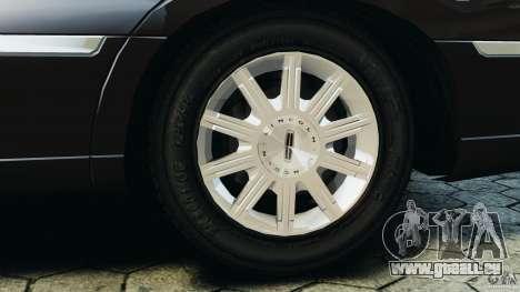 Lincoln Town Car Limousine 2006 für GTA 4 Unteransicht