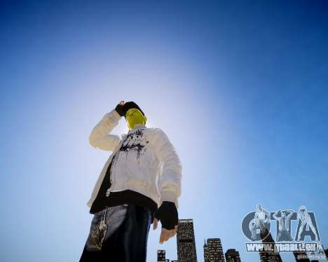 Niko The Mask für GTA 4 dritte Screenshot