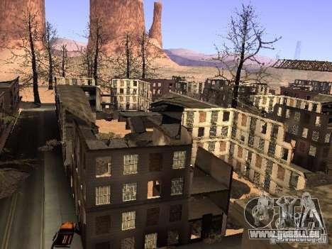 Tchernobyl MOD v1 pour GTA San Andreas huitième écran