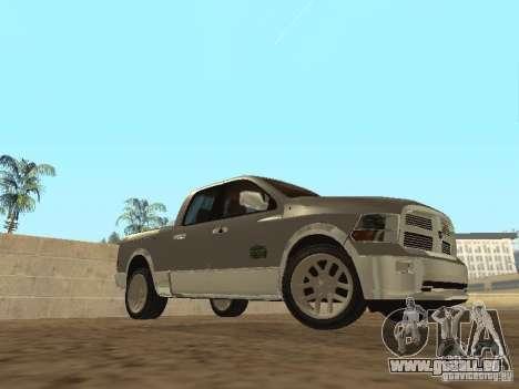 Dodge Ram pour GTA San Andreas laissé vue