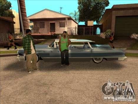Buick Santiago pour GTA San Andreas sur la vue arrière gauche
