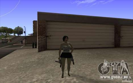 Kaileena big fan pour GTA San Andreas