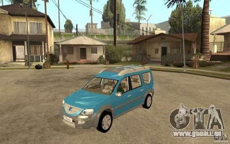 Dacia Logan Steppe Concept für GTA San Andreas