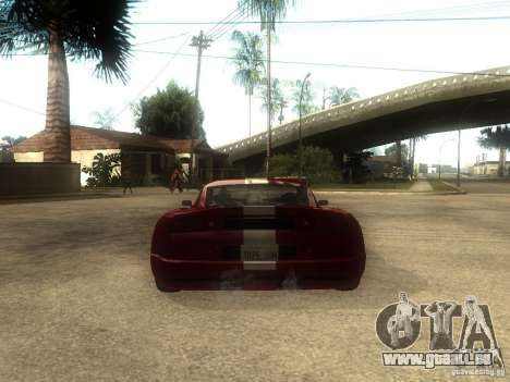 Axis Pegasus für GTA San Andreas zurück linke Ansicht