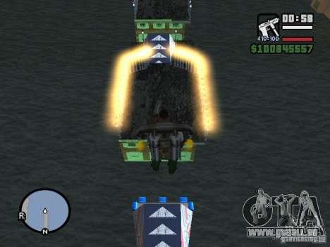 Night moto track pour GTA San Andreas deuxième écran