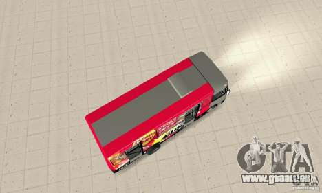 Bogdan A091 pour GTA San Andreas sur la vue arrière gauche