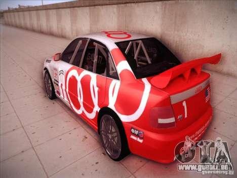 Audi S4 Galati Race für GTA San Andreas zurück linke Ansicht