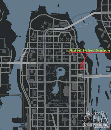 Statoil Petrol Station für GTA 4 weiter Screenshot
