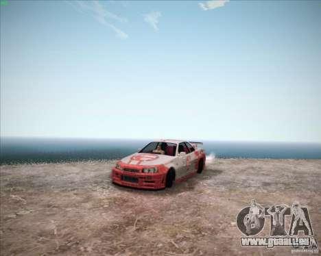 Nissan Skyline Z-Tune v2.0 für GTA San Andreas rechten Ansicht