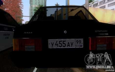 VAZ 21099 Blueline für GTA San Andreas rechten Ansicht