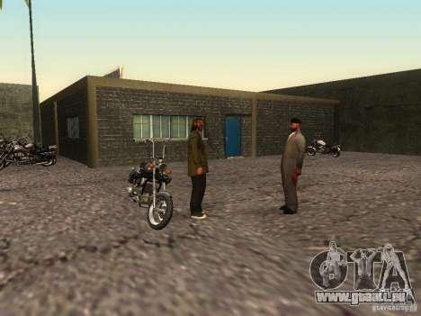 Die realistische Schule Biker v1. 0 für GTA San Andreas sechsten Screenshot