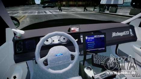 Ford Crown Victoria Fl Highway Patrol Units ELS pour GTA 4 est un droit