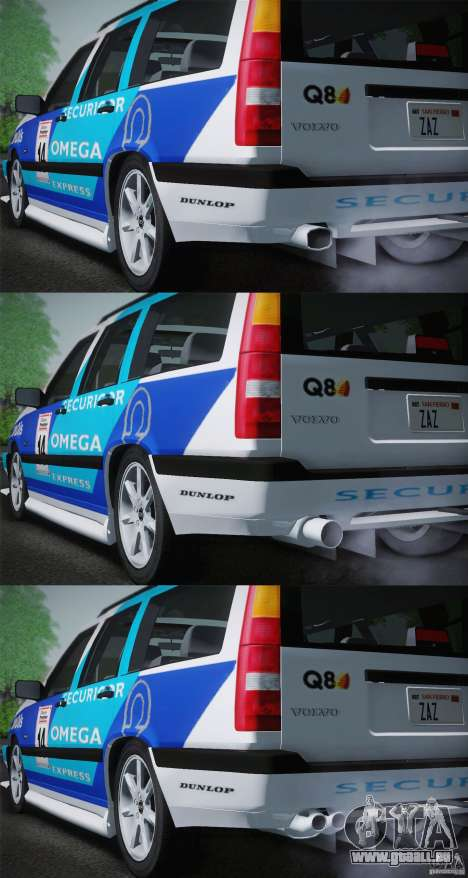 Volvo 850 Estate Turbo 1994 für GTA San Andreas Unteransicht