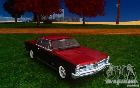 Pontiac GTO 1965 FINAL für GTA 4 Seitenansicht