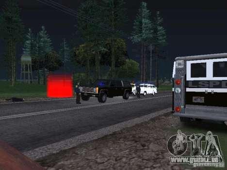 Police Post pour GTA San Andreas troisième écran