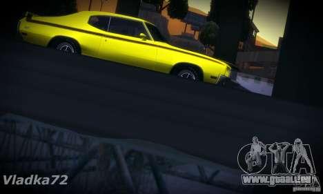 Buick GSX 1970 v1.0 pour GTA San Andreas vue arrière