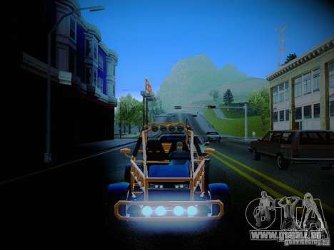 Buggy From Crash Rime 2 pour GTA San Andreas vue de côté