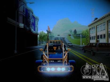 Buggy From Crash Rime 2 für GTA San Andreas Seitenansicht