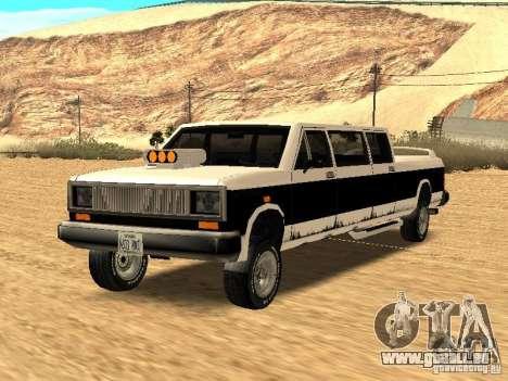 BOBCAT Limousine für GTA San Andreas