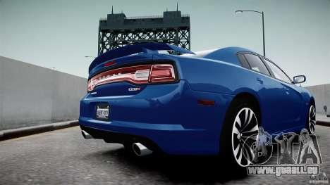 Dodge Charger SRT8 2012 pour GTA 4 est un droit