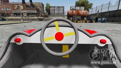 Autoscooter für GTA 4 Rückansicht