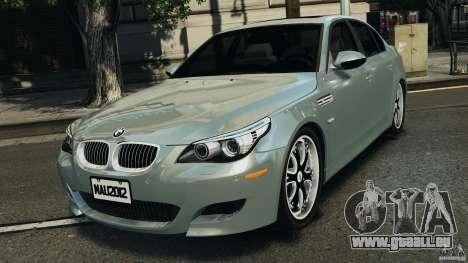 BMW M5 E60 2009 v2.0 pour GTA 4