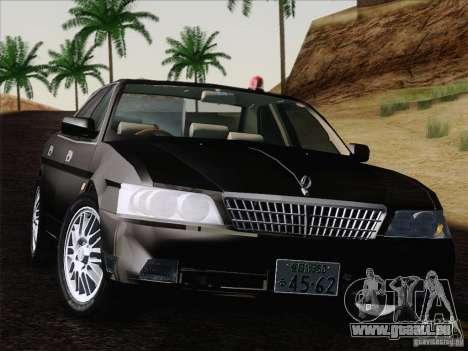 Nissan Laurel GC35 Kouki Unmarked Police Car für GTA San Andreas rechten Ansicht
