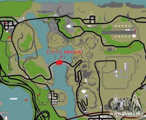 Basis des Drachen für GTA San Andreas zehnten Screenshot