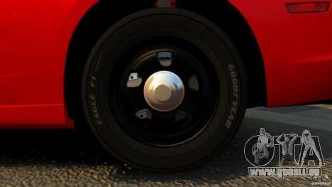 Dodge Charger RT Max FBI 2011 [ELS] pour GTA 4 est une vue de dessous
