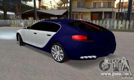 Bugatti Galibier 16c für GTA San Andreas Seitenansicht